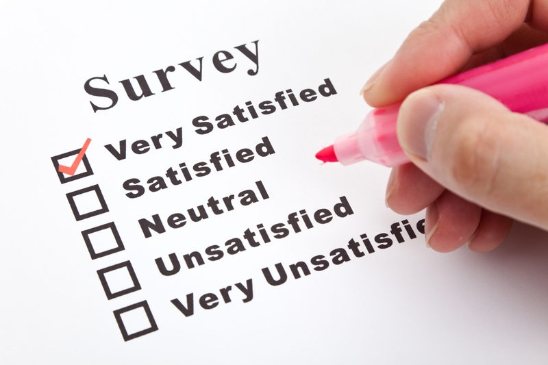 Customer Satisfaction Surveys Usually Rate The Agent Not Company