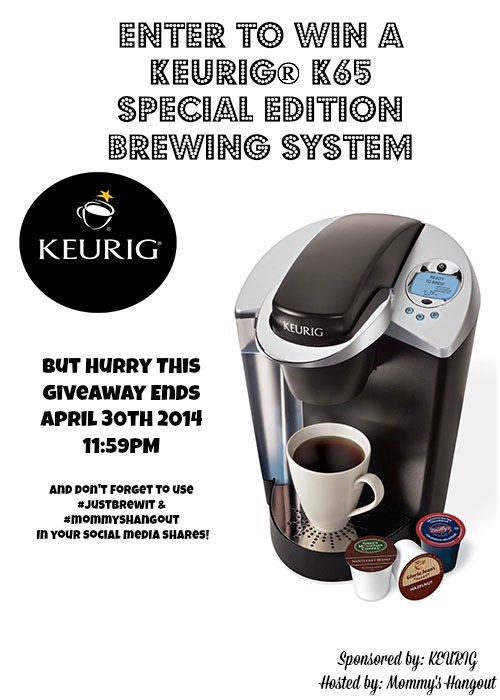 JustBrewIt with Keurig® K65 Special Edition Brewing System