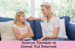 Behavior Disorders vs Normal Kid Behavior 3