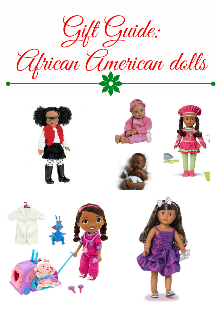 Gift Guide African American dolls