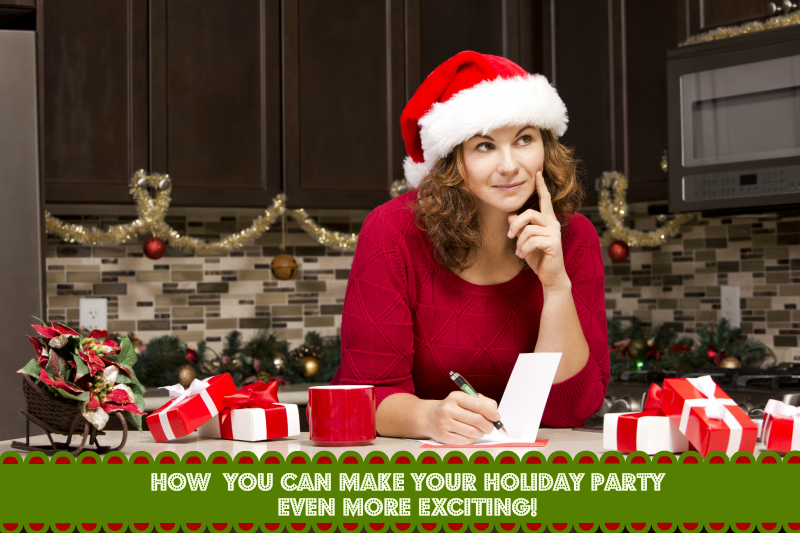 Tips for exciting Holiday Parties