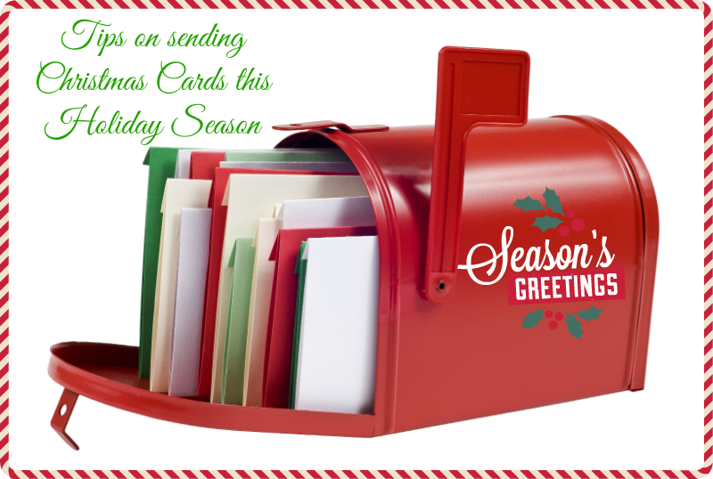 Tips on sending christmas cards