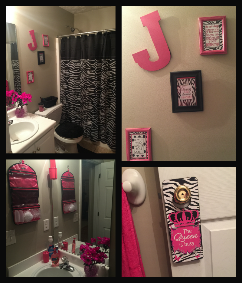 Bathroom after Collage