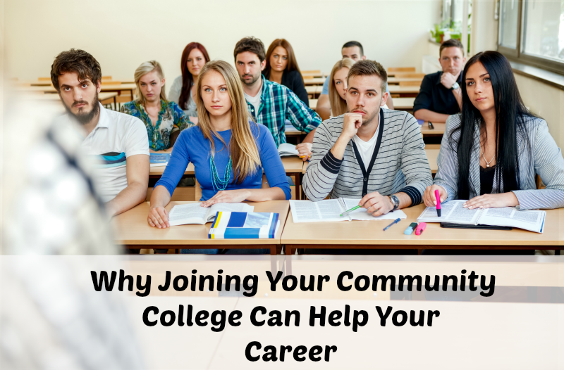 Why Joining Your Community College Can Help Your Career