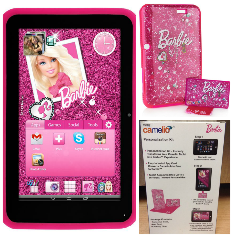 Camelio Tablet Barbie Accessory Pack