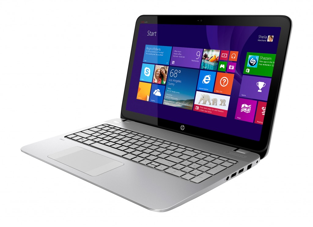 "HP - ENVY TouchSmart 15.6"" Touch-Screen Laptop"