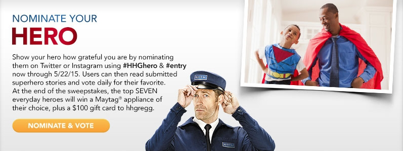 Maytag Salutes Sweepstakes