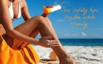Sun safety tips for the whole family