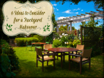 6 Ideas to Consider for a Backyard Makeover