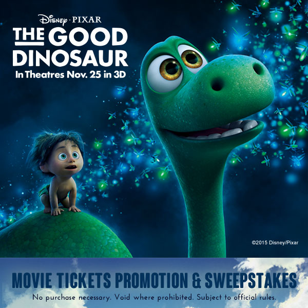 Good Dinosaur - Sweepstakes