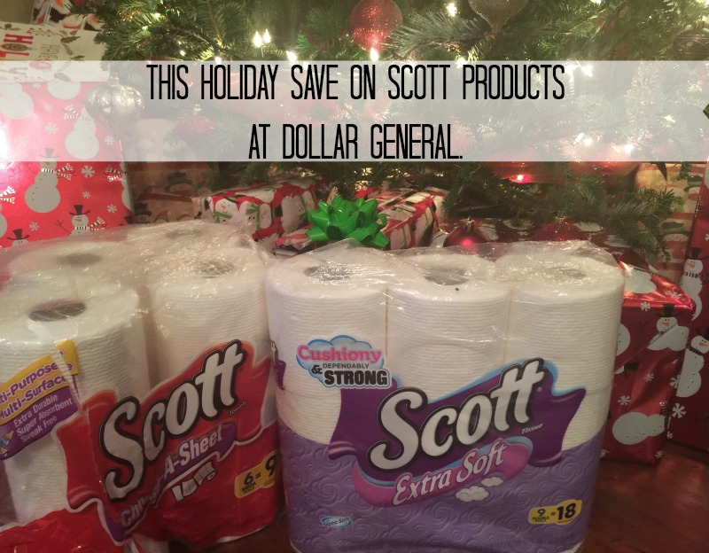 SCOTT Products from Dollar General!