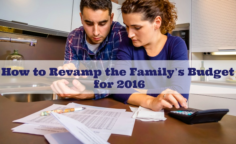 How to Revamp the Family's Budget for 2016