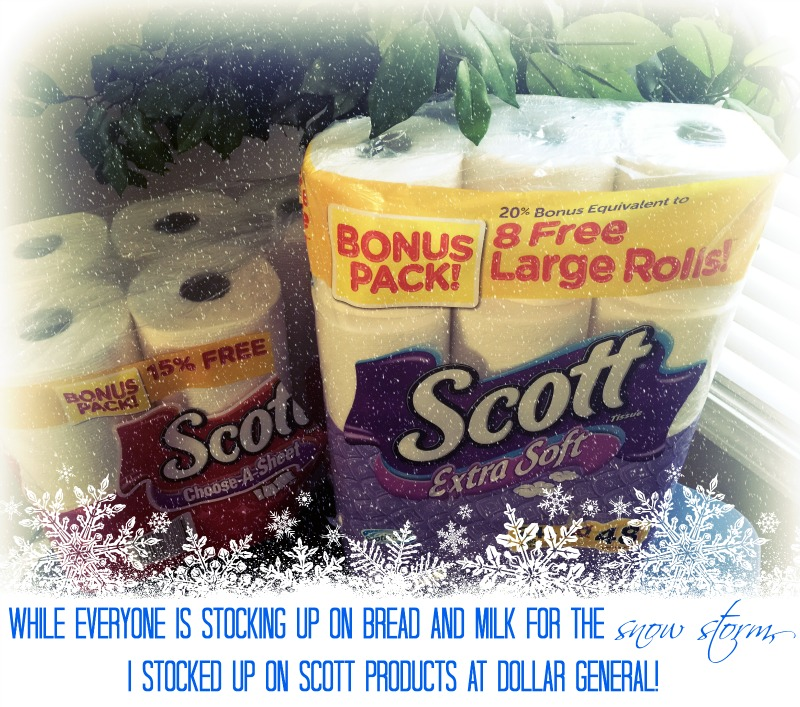 SCOTT® bonus packs at Dollar General