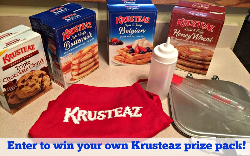 Krusteaz Prize pack