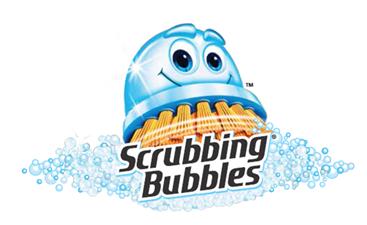 Scrubbing Bubbles® Logo