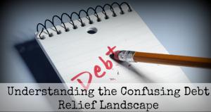 Understanding the Confusing Debt Relief Landscape