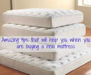 Amazing tips that will help you when you are buying a new mattress